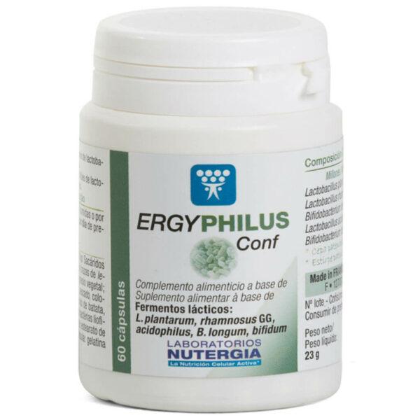 Ergyphilus Confort 60 cap Regula el Tránsito Intestinal Nutergia - Herbolario Larrea