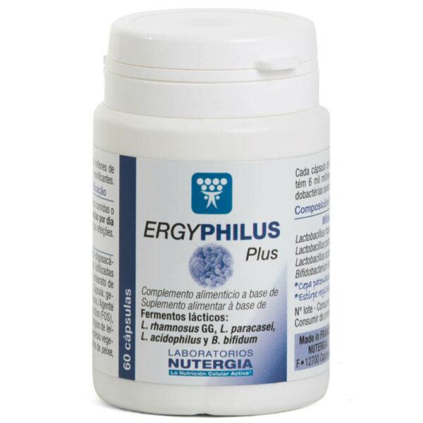 Ergyphilus Plus Protege la Flora Intestinal Nutergia - Herbolario Larrea